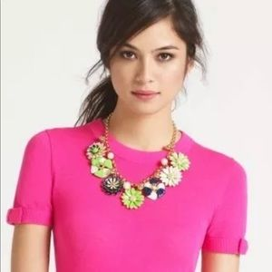 Kate Spade Posey Park Statement Necklace Flower